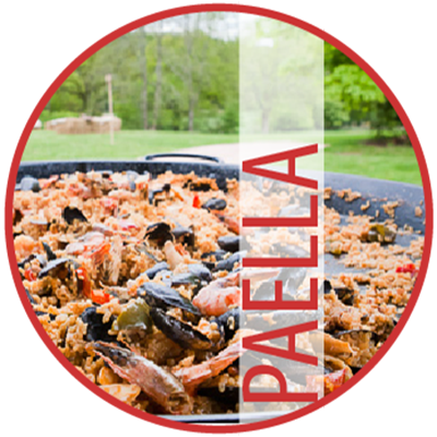Food in Paella Parties